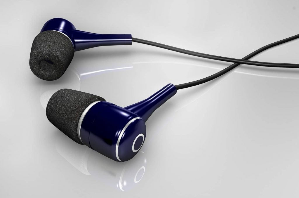 wireless earbuds provide the smallest and lightest way to listen to music.